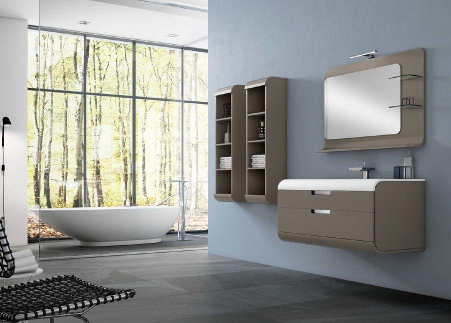 oglinda asimetrica sun oglinzi mobilier de baie sanitare casa shutu. Black Bedroom Furniture Sets. Home Design Ideas